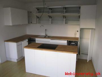 Nová kuchyňa biela vysoký lesk