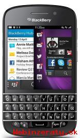 nový Blackberry Q10