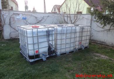 Kontajner IBC na vodu 1000 L