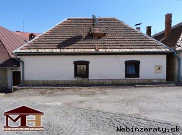 Predaj rodinný dom v centre mesta KRUPIN