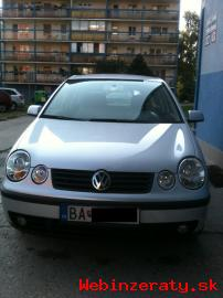 Predam VW Polo, r. 2004,vybornystav,3300