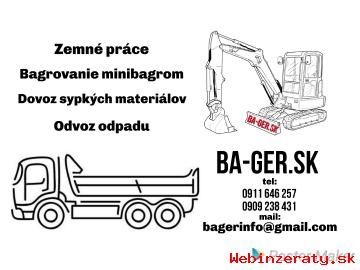 Zemné práce a doprava