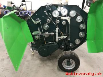 Minibalíkovač na seno na okrúhle balíky
