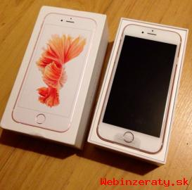 Apple iPhone 6S 16GB náklady 400 Euro