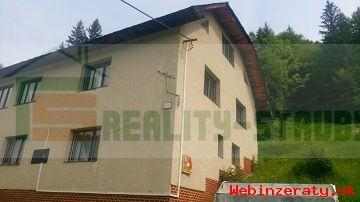 predaj - rodinný dom a dve drevenice