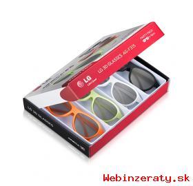 3D okuliare LG AG-F315 PARTY PACK (4 ks)