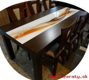 Kuchynský stôl  6 stoličiek