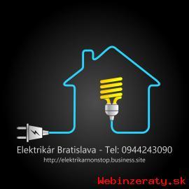 Elektrikári Bratislava - 24/7