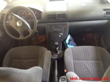 VW SHARAN 1. 9TDI ComfortLine 7m 85kW/11