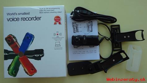 Športová kamera Mini MD80, nová