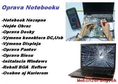 Servis Notebookov-Oprava notebookov  Opr