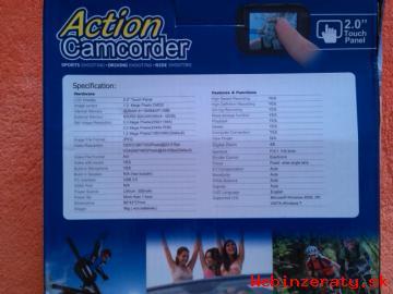 Predám action sport cameru