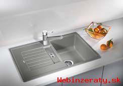 Kuchynské drezy a batérie BLANCO, drviče