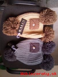 Predám mäkké, dámske, zimné čiapky.