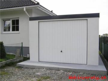 Montovaná garáž s omietkou - celá SR