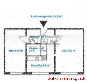 2-izb.  byt Osuského ul.  - Petržalka