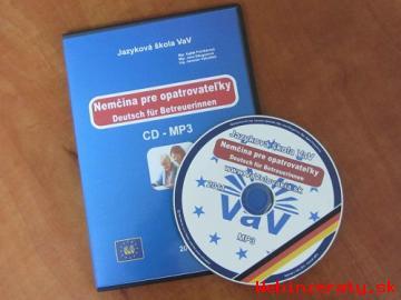 CD MP3/AUDIO Nemčina pre opatrovateľky