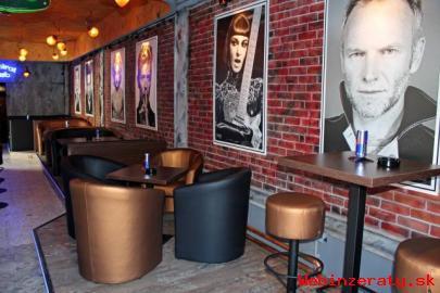 Kaviarenské a barové kreslá