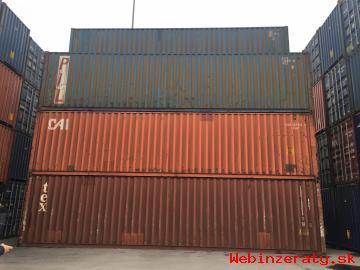 Lodný kontajner použitý