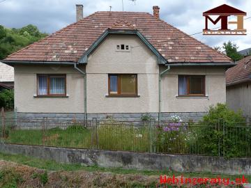 Predaj 3-izbový rodinný dom so záhradou