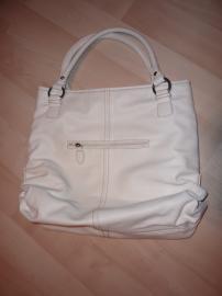 Inzercia oblečenie > predam bielu kabelku/tasku geoss