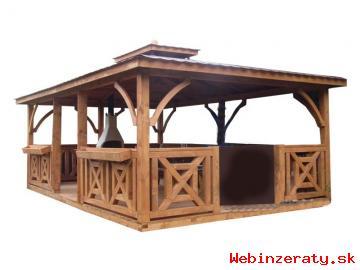 Predám drevené záhradné altánky