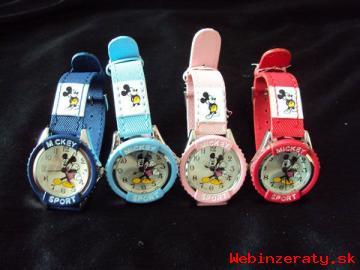 Detské hodinky Mickey Mouse !