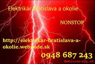 Elektrikár Bratislava-NONSTOP