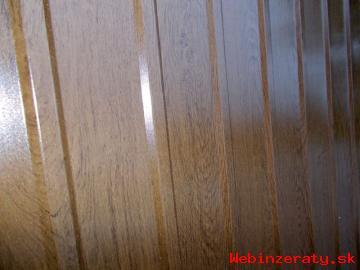 Štýlový trapézový plech Zlatý dub
