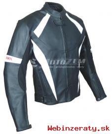 Kožená bunda na motorku RSA WOLF