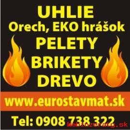 Predám Ekohrášok - Brikety - Pelety