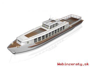 Rekreační loď - plovoucí apartmán