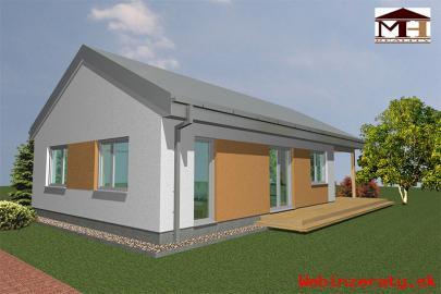Murovaná novostavba rodinného domu