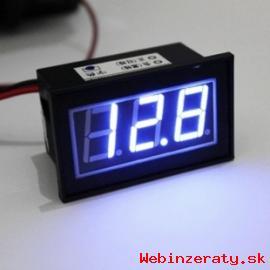 Vodotesny voltmeter aj na motorku 4-30V