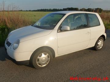 VW Lupo 1,4 16v 1 majitelka