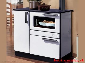Kuchynský sporák PLAMAK na drevo