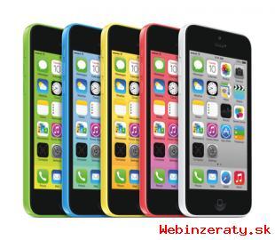 Apple iPhone 5C ružový 16GB