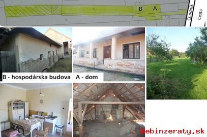 Predám starší dom so záhradou Partizánsk
