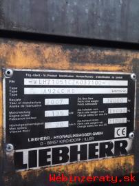 Predám nakladače Fuchs a Liebherr