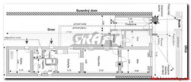 RK-GRAFT ponúka 3-izb. RD Vištuk