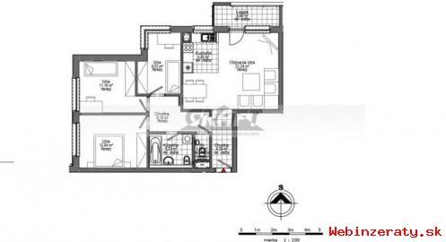 RK-GRAFT ponúka 4-izb.  byt v novostavbe