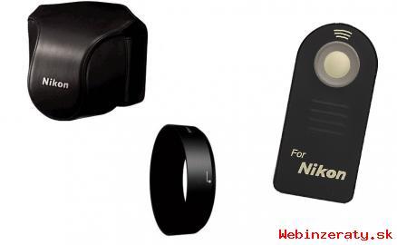 Nikon 1 J2 + 3 objektívy + príslušenstvo