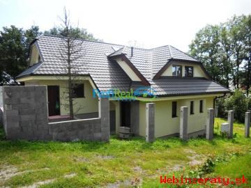 Novostavba rodinného domu v Starej Lesne