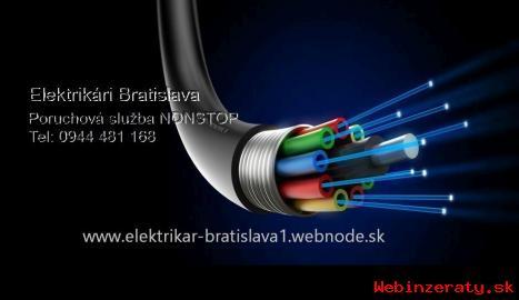 Elektrikári - poruchová služba