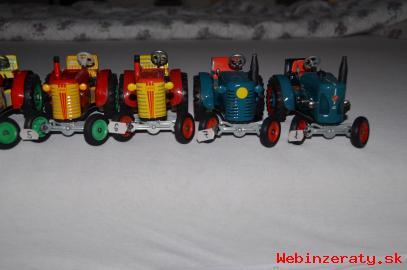 Predám plechové traktory KDN- KOVAP,