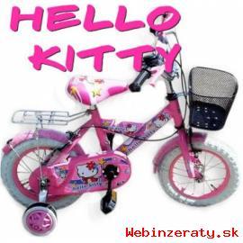 """Bicykel detský 12"""" Hello Kitty nový"""