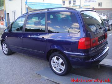 VW SHARAN 1. 9TDi TrendLine 7-miestny