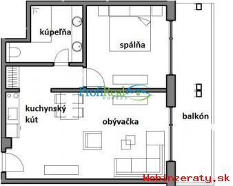 2-izb.  apartmán v Starom Smokovci