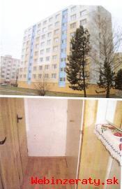 Pôvodný 2 izbový byt v Detve