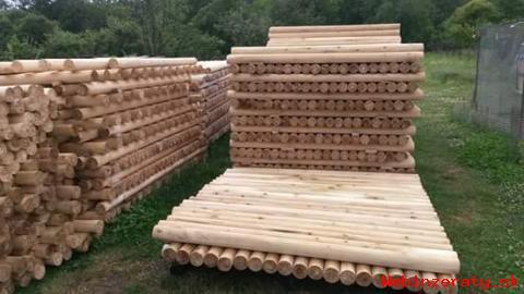 Najlacnejšie drevené stĺpy